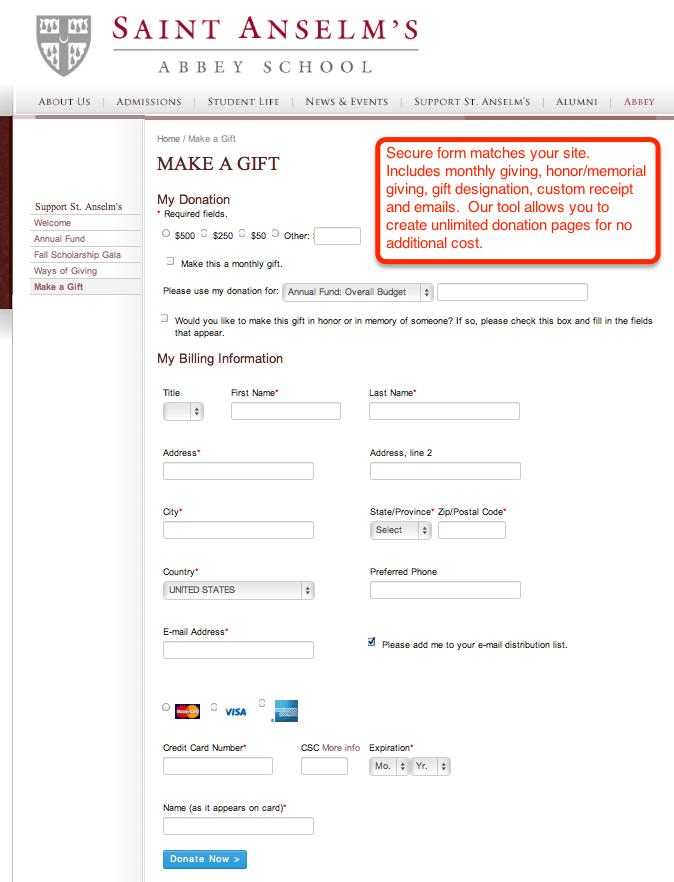 Online donation platform charityweb donate altavistaventures Images